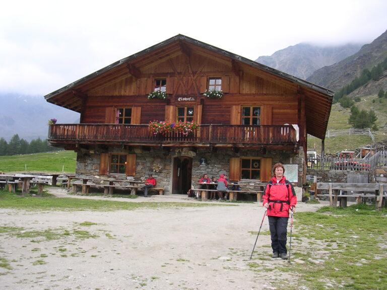 Eishof vor dem SchneefallHochtal am Eishof