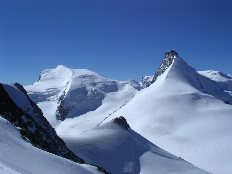 Blick zur Dufourspitze