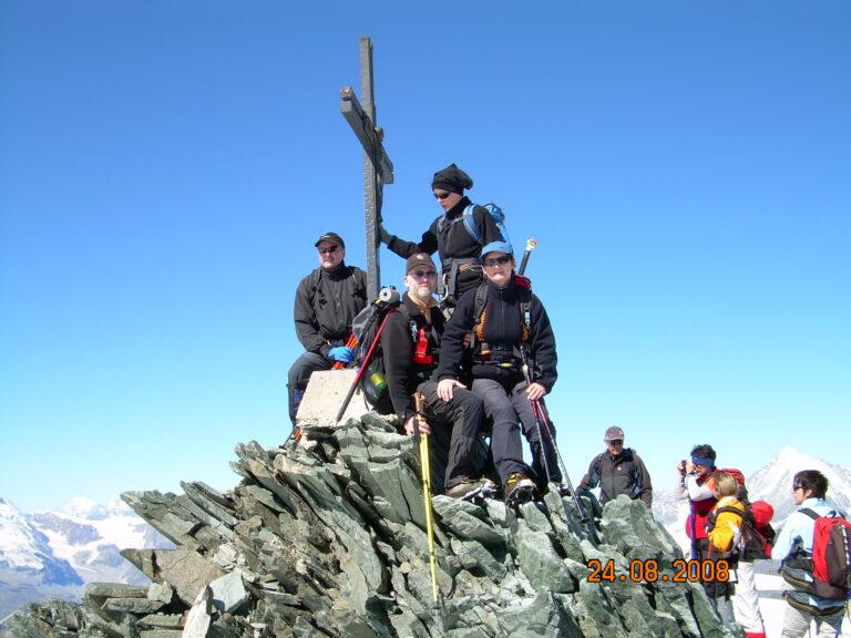 Gipfelkreuz erreicht