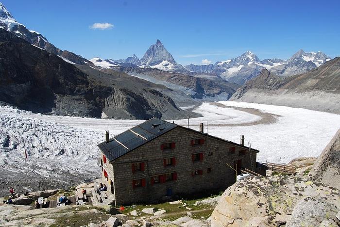 Alte Monte-Rosa-Hütte