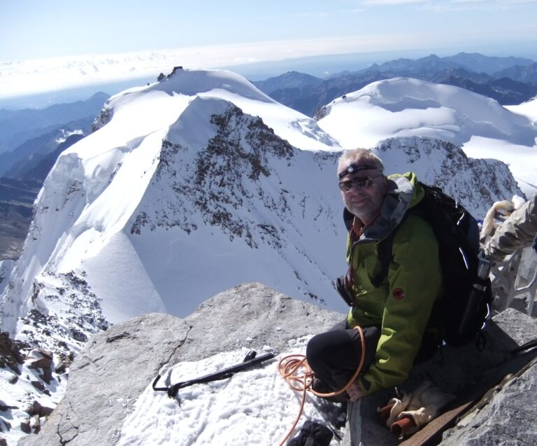 Gipfel Dufourspitze