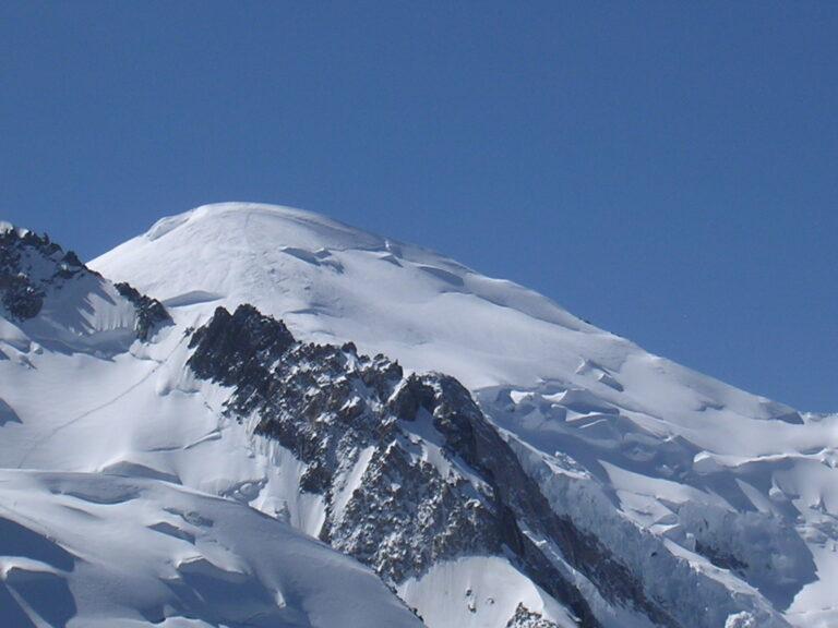 Mont Blanc vom Aigle du Middi gesehen