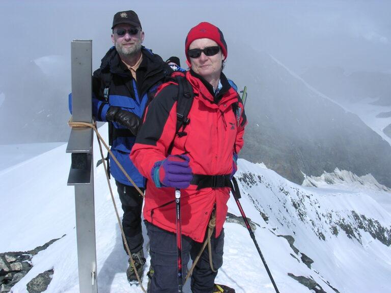 Gipfelbild Strahlhorn