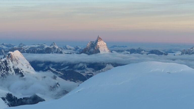Gipfel gen Matterhorn