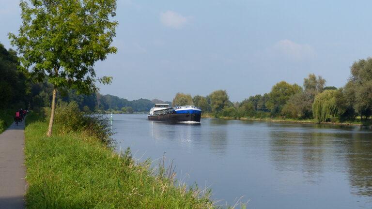 ausgebaute Weser