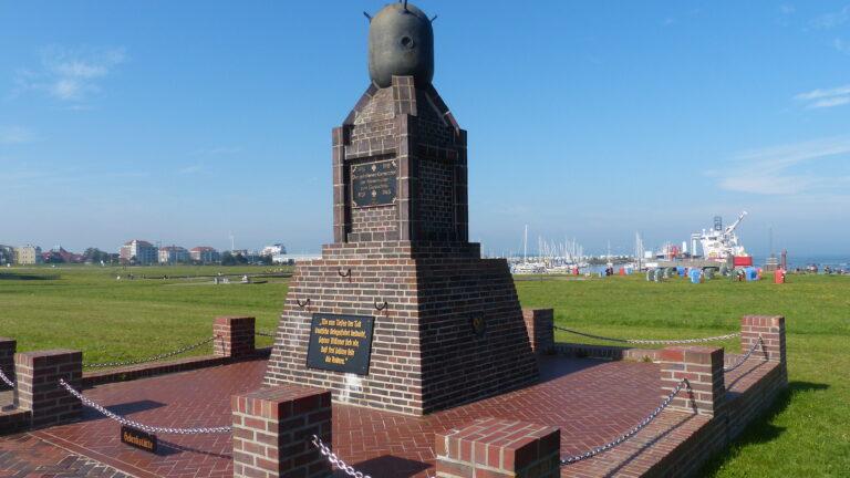 Cuxhaven, Minensucherdenkmal