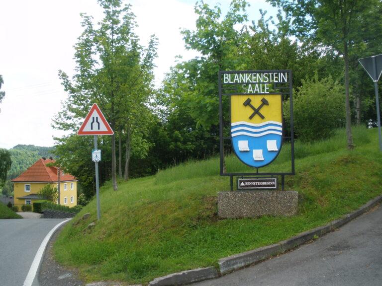 Rennsteigbeginn Blankenstein